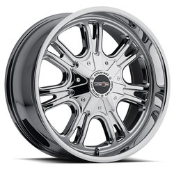 Vision Wheels 3992 Storm - Chrome Rim - 20x9