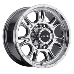 Vision Wheels 399 Fury - Chrome Rim - 17x8.5