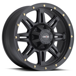 Vision Wheels 400 Incline - Matte Black Rim