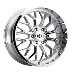 Vision Wheels 402 Riot - Chrome Rim - 24x12