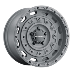 Vision Wheels 403 Tactical - Satin Black Rim - 20x12