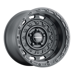 Vision Wheels 403 Tactical - Gunmetal Rim - 20x12