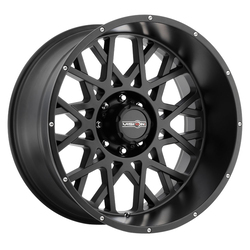 Vision Wheels Rocker - Satin Black Rim - 20x12