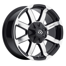Vision Wheels Vision Wheels Valor - Gloss Black Machined Face - 15x7.5