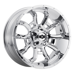 Vision Wheels Bomb - Chrome Rim - 20x12