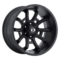 Vision Wheels Bomb - Satin Black Rim - 20x12