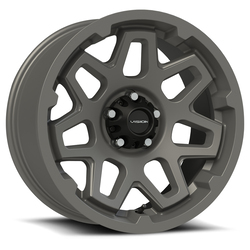 Vision Wheels 416 Se7en Trailer - Satin Gray Rim