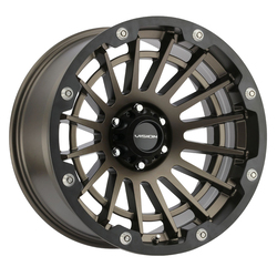 Vision Wheels Creep - Satin Bronze Rim - 18x9