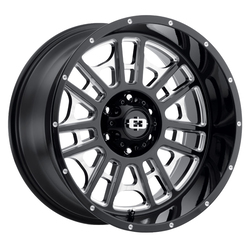Vision Wheels Widow - Gloss Black Milled Spoke - 20x9