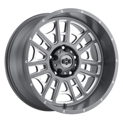 Vision Wheels Widow - Satin Grey Milled Spoke - 20x9