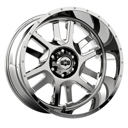 Vision Wheels Split - Chrome - 22x12