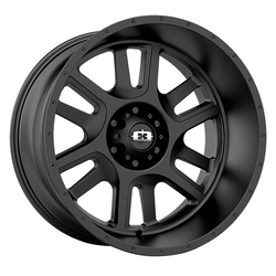 Vision Wheels Split - Satin Black - 22x12