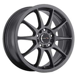 Vision Wheels 425 Bane - Gunmetal