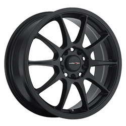 Vision Wheels Bane - Matte Black Rim
