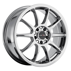 Vision Wheels Bane - Chrome Rim - 17x7