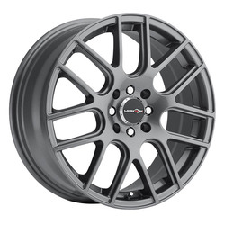 Vision Wheels 426 Cross - Gunmetal Rim - 17x7