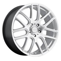 Vision Wheels 426H Cross - Hyper Silver Rim - 18x8