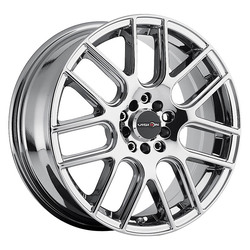 Vision Wheels 426 Cross - Phantom Chrome Rim - 17x7