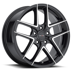 Vision Wheels 467 Mantis - Gloss Black Machined Face Rim