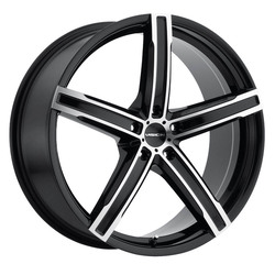 Vision Wheels Boost - Gloss Black Mirror Machined Face Rim - 17x7