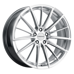 Vision Wheels 473 Axis - Hyper Silver Machined Face Rim