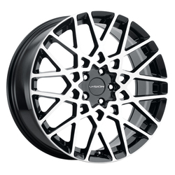 Vision Wheels 474 Recoil - Gloss Black Machined Face Rim
