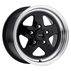 Vision Wheels Nitro - Gloss Black Machined Lip