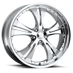 Vision Wheels 539 Shockwave - Chrome Rim