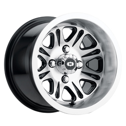 Vision ATV Wheels 547 Spirit - Gloss Black Mirror Machined Face Rim
