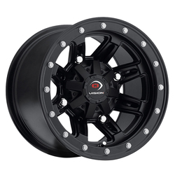 Vision ATV Wheels Five-Fifty - Matte Black - 14x8