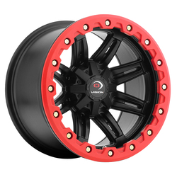 Vision ATV Wheels 551 Five Fifty One - Matte Black - 14x10