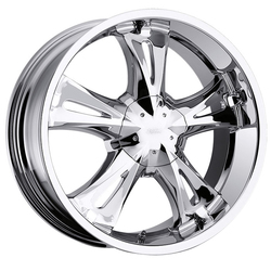 Milanni Wheels 554 Bitchin - Chrome Rim