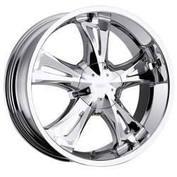 Milanni Wheels Milanni Wheels 554 Bitchin - Chrome