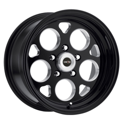 Vision Wheels Sport Mag - Gloss Black with Milled Windows Rim - 15x7