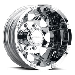 Vision Wheels 715 Crazy Eightz Duallie - Chrome