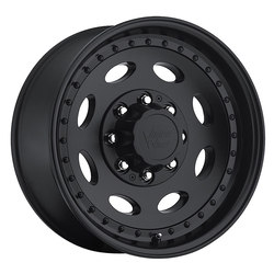 Vision Wheels 81 Heavy Hauler - Matte Black - 19.5x7.5