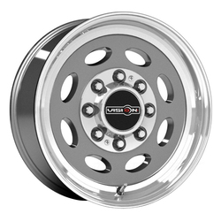 Vision Wheels Heavy Hauler - Gunmetal Machined Lip - 19.5x7.5