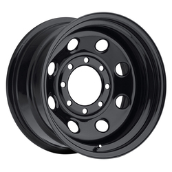 Vision Wheels 85 Soft 8 - Black Rim