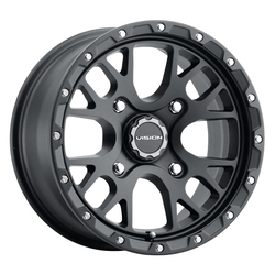 Vision ATV Wheels 545 Rocker - Satin Black Rim - 14x7