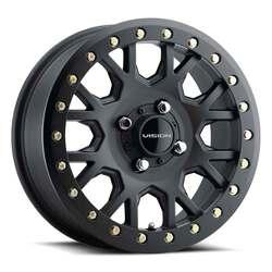Vision ATV Wheels GV8 Beadlock Invader - Satin Black Rim