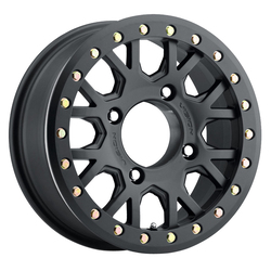 Vision ATV Wheels GV8 Beadlock Invader - Satin Black Rim