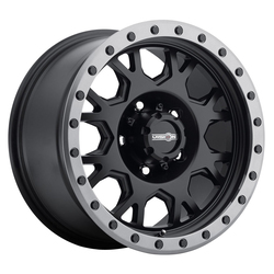 Vision ATV Wheels GV8 Invader - Matte Black Anthracite Lip Rim