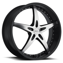 Milanni Wheels 453 ZS-1 - Gloss Black Machined Face Rim