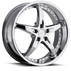 Milanni Wheels 453 ZS-1 - Chrome - 20x8