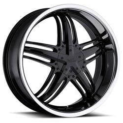 Milanni Wheels 457 Force - Gloss Black - 20x8