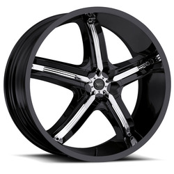 Milanni Wheels 459 Bel Air 5 - Gloss Black Rim