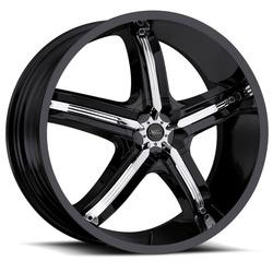 Milanni Wheels 459 Bel Air 5 - Gloss Black - 22x8.5