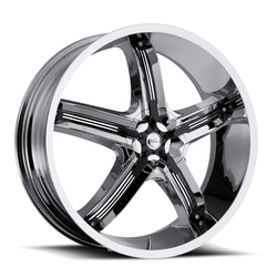 Milanni Wheels 459 Bel Air 5 - Chrome Rim