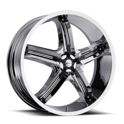 Milanni Wheels 459 Bel Air 5 - Chrome - 20x8