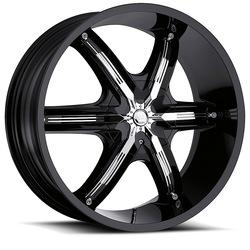 Milanni Wheels 460 Bel Air 6 - Gloss Black